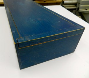 Sliding top box
