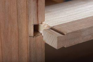 sliding dovetail toolbox divider