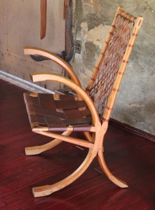 Esherick wagon-wheel chair