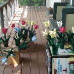 Jon Slaton wooden tulips