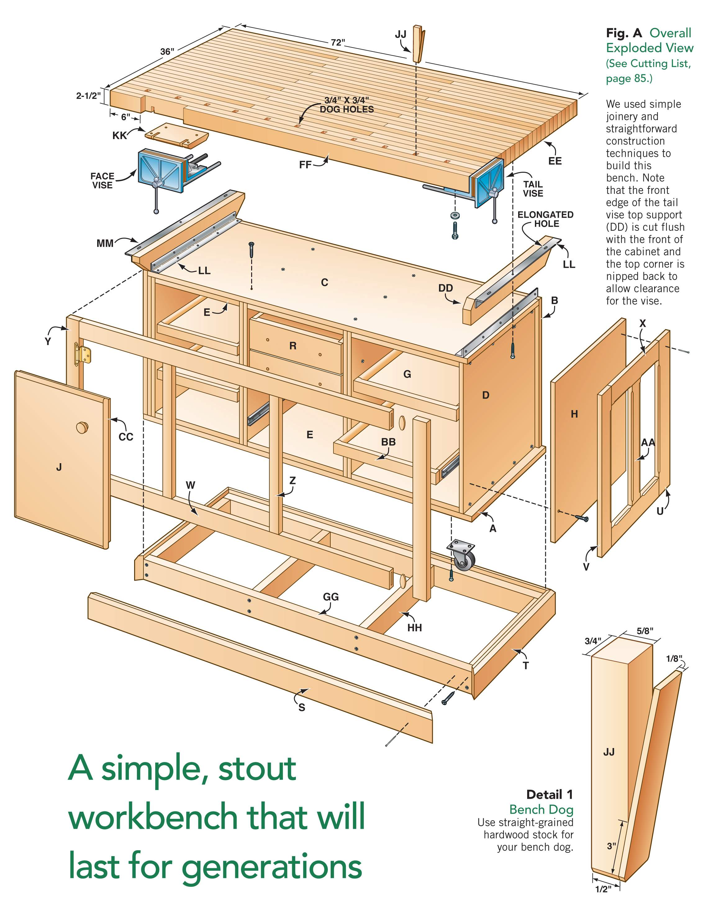 AW Extra - Dream Workbench - Popular Woodworking Magazine