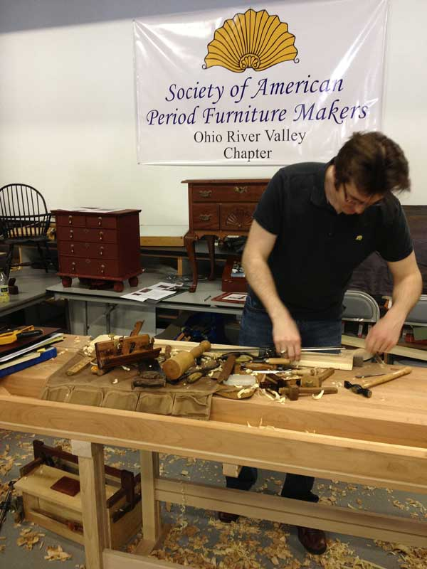 "Zachary Dillinger, the ""Eaton County Woodworker"""